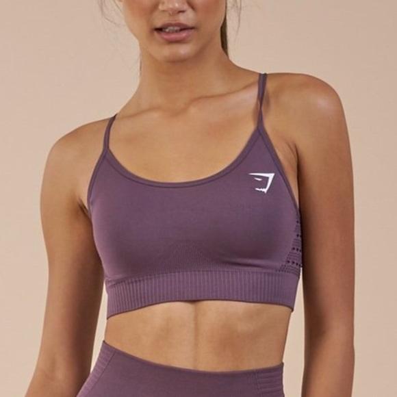edd0c95be4 Gymshark energy seamless sports bra size M